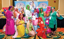 GROUP PHOTO COURTESY OF AIMÉE FINDLAY - Welcome to the herd: Conventioneers prove that My Little Pony fandom doesn't always end with childhood.
