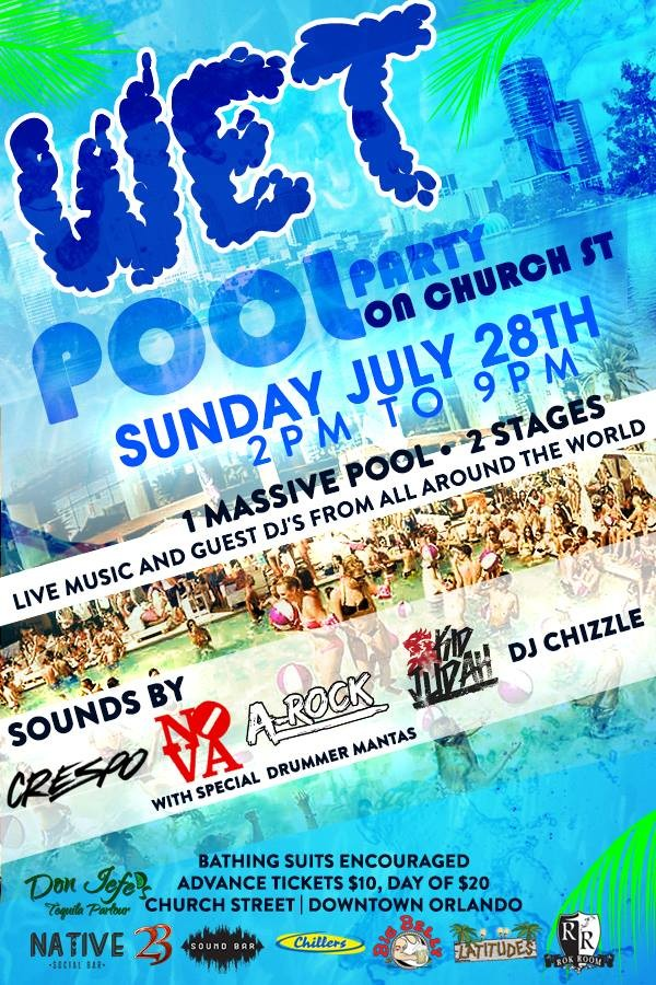 Wet And Wild Church Street Throws Rehab Style Pool Party