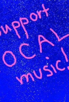 What support local music means, for real