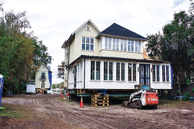 "Two of Winter Park's best-known preservation ""successes"" – the Casa Feliz and the Capen House, above – had to be moved to new sites in order to prevent the new owners from simply tearing them down."