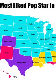 Who is Florida's favorite pop star?