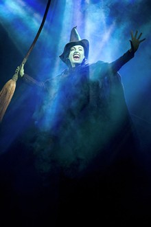 Witchy Woman: Jackie Burns delivers a chaotically intense performance as Elphaba - JOAN MARCUS
