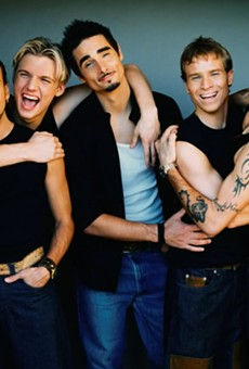 You guys, there's a Backstreet Boys movie coming out and we just lost our Scrunchie