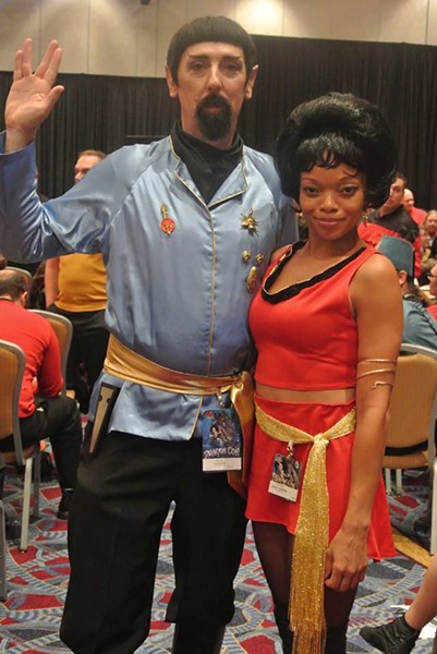 Your Dragonizer, please: Mooring's Evil Uhura hits Dragoncon.