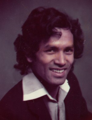 Rafique Islam in 1978. - RAFIQUE ISLAM