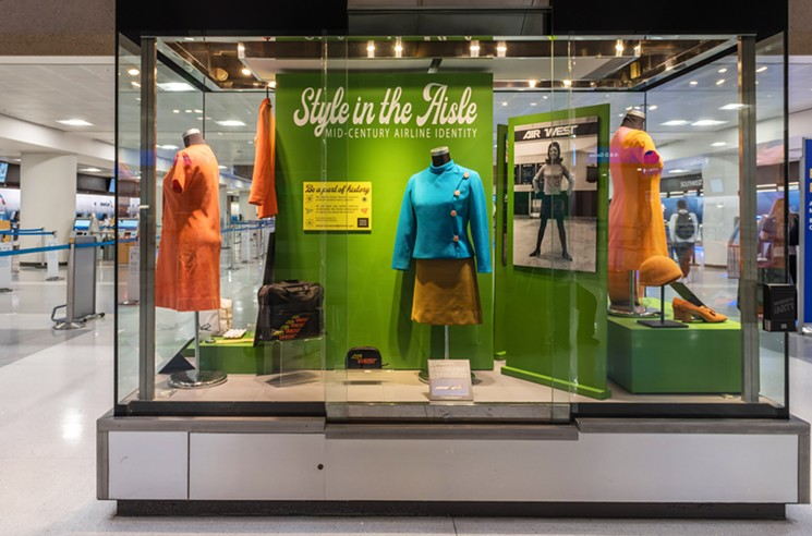 For those who like a bit of fashion time travel with their summer trips. - PHOENIX AIRPORT MUSEUM
