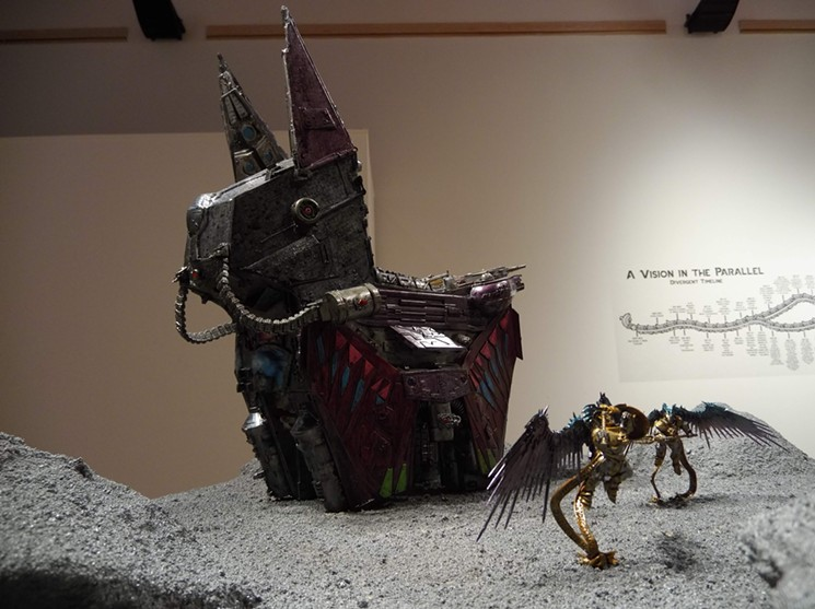 August 8 is your last chance to Angel Cabrales' exhibit in Mesa. - MESA CONTEMPORARY ARTS MUSEUM