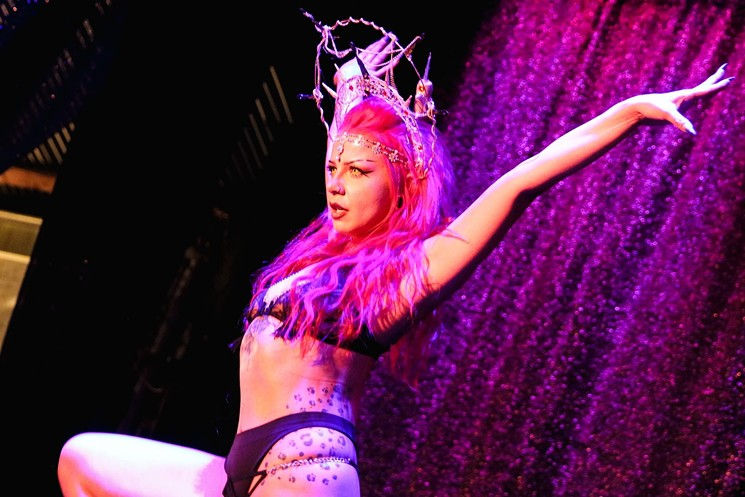 Sometimes you just need a little burlesque in your life. - PAIN PROOF PUNKS