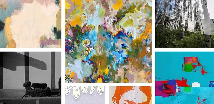 A sneak peek at what to expect in the 'Summer Spectacular' exhibition. - ROYSE CONTEMPORARY