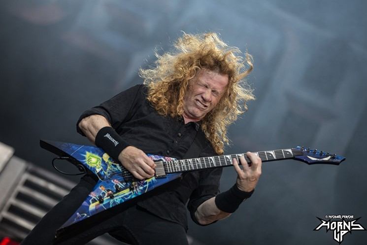 Dave Mustaine of Megadeth. - MZAGERP/CC BY-ND 2.0/FLICKR