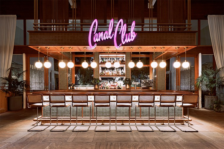 The Canal Club bar is an Insta must. - THE CANAL CLUB