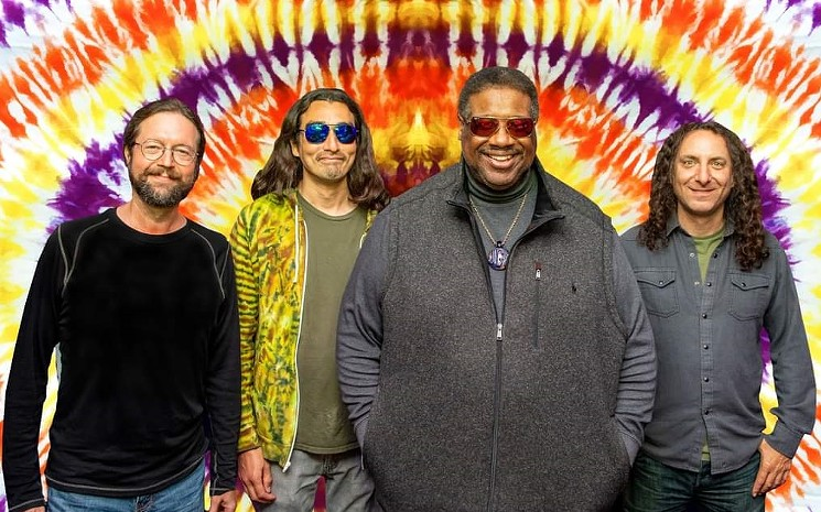 Melvin Seals and JGB are hitting Tempe this weekend. - MELVIN SEALS AND JGB