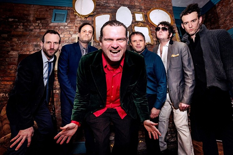 The rock 'n' roll jokers of Electric Six. - MARK WRIGHT