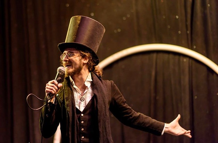 The Proprietor of the GasLight Circus will lead his troupe in Endgame in Mesa on Sunday. - RICK MEINECKE
