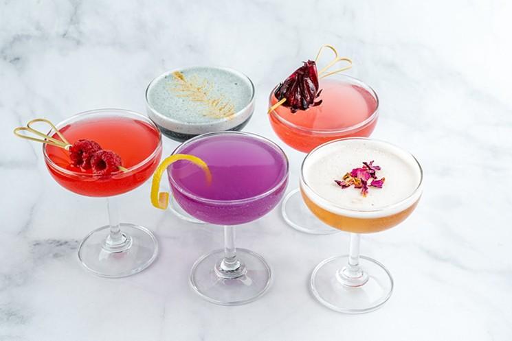 Special-Tea Cocktails at Drink Me! Team Room - ERIC AND GIZEL BAHLMAN