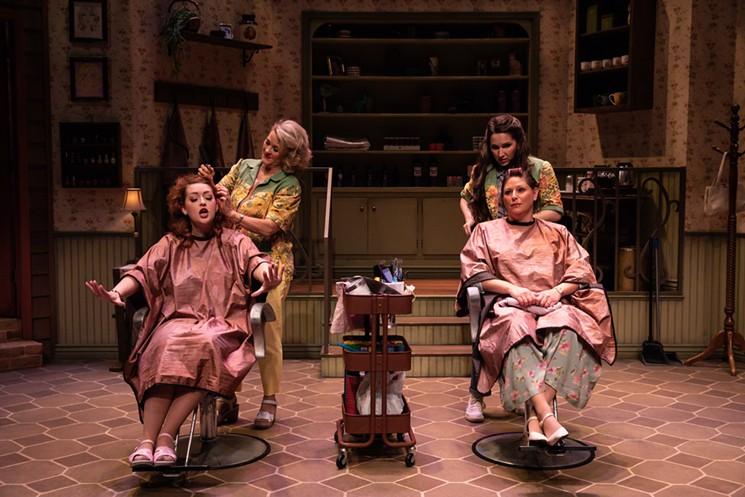 Scene from Phoenix Theatre Company's Steel Magnolias. - REG MADISON PHOTOGRAPHY