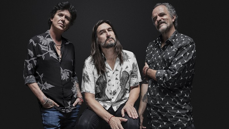 The members of rock en Español band Califanes. - TICKETMASTER