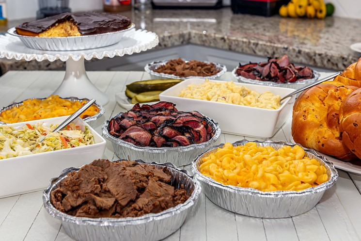 There are plenty of catering options at Miracle Mile Deli. - MIRACLE MILE DELI