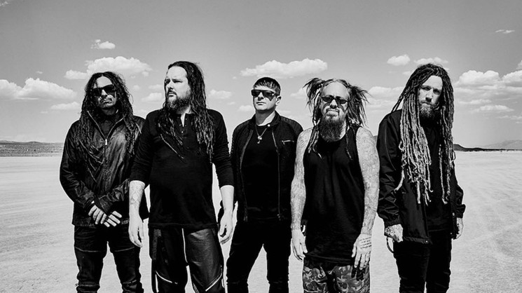 Korn returns to the Valley in September. - JIMMY FONTAINE