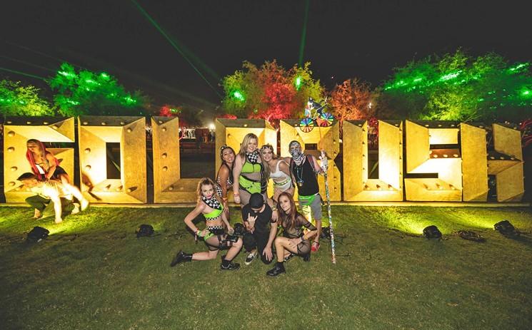 Attendees of Goldrush Music Festival. - TONY COTTRELL PHOTOGRAPHY/RELENTLESS BEATS