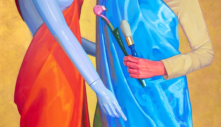 See an exhibit inspired by Paris (and Artlink) - LUCRETIA TORVA