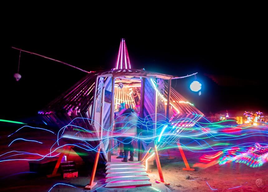 Goosby Relativity Cruiser Time Vortex at Saguaro Man 2019. - KEVIN PRICE
