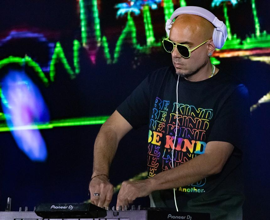 "Look for Joseph ""DJ Dimension"" Mercado at Grand Ave Records. - JOSEPH MERCADO"
