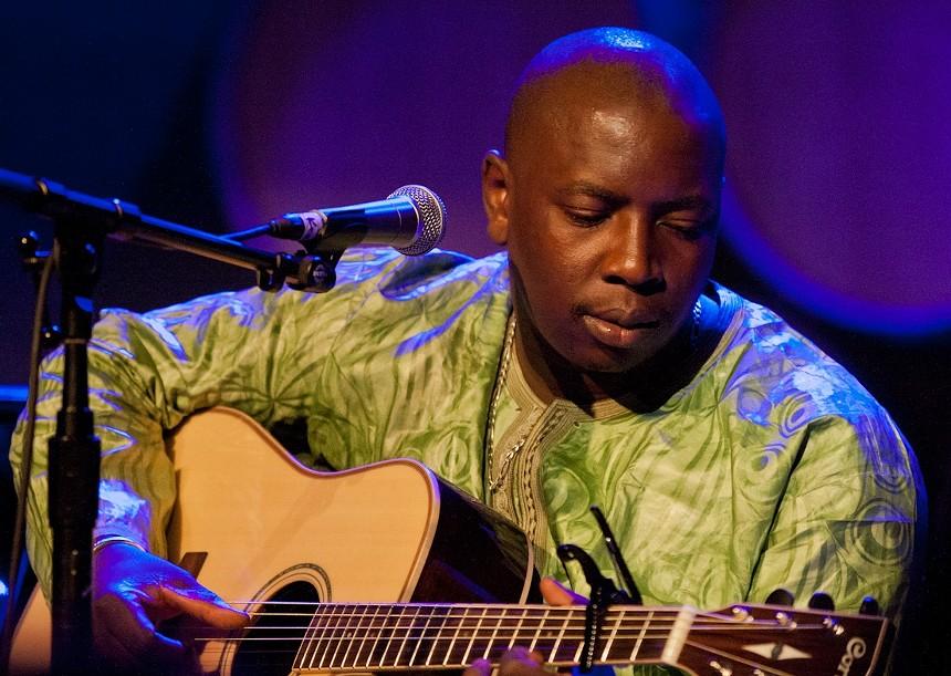 Malian singer and guitarist Vieux Farka Touré. - SACHYN MITAL/CC BY-SA 3.0/WIKIMEDIA COMMONS
