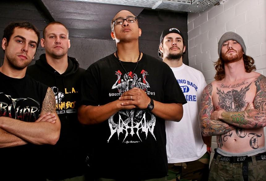Hardcore band Terror. - BRIDGE NINE RECORDS