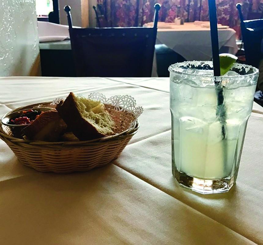 The Barrio Cafe Lowrider Margarita. - MELISSA CAMPANA