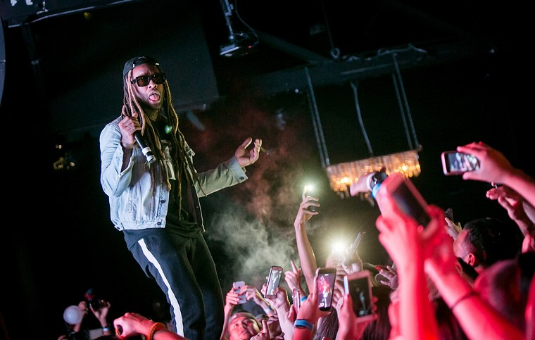 Ty Dolla $ ign during a 2017 concert at The Pressroom.  - MELISSA FOSSUM