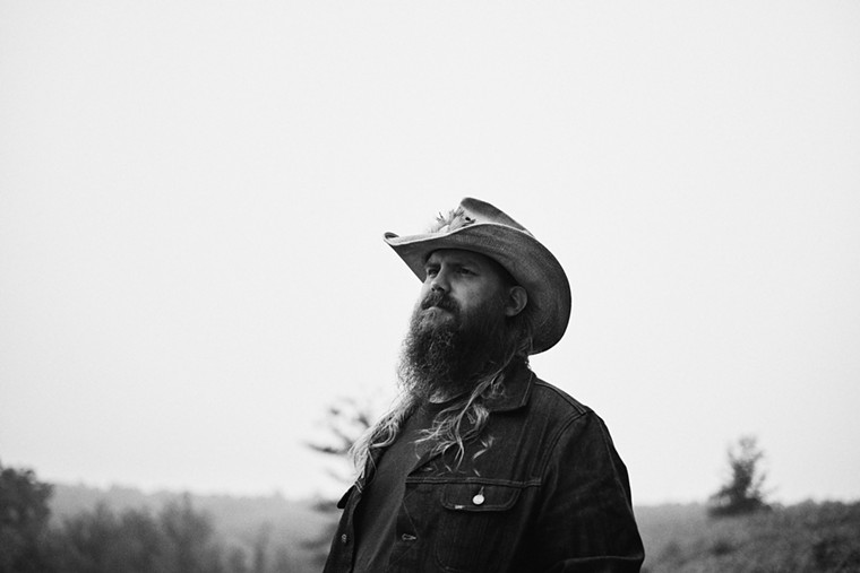 Country and Southern rock singer/guitarist Chris Stapleton. - BECKY FLUKE