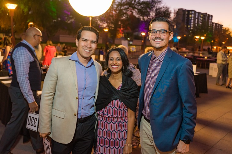 Throwback to a previous Mayor's Arts Awards ceremony at Hance Park. - PHOENIX CENTER FOR THE ARTS