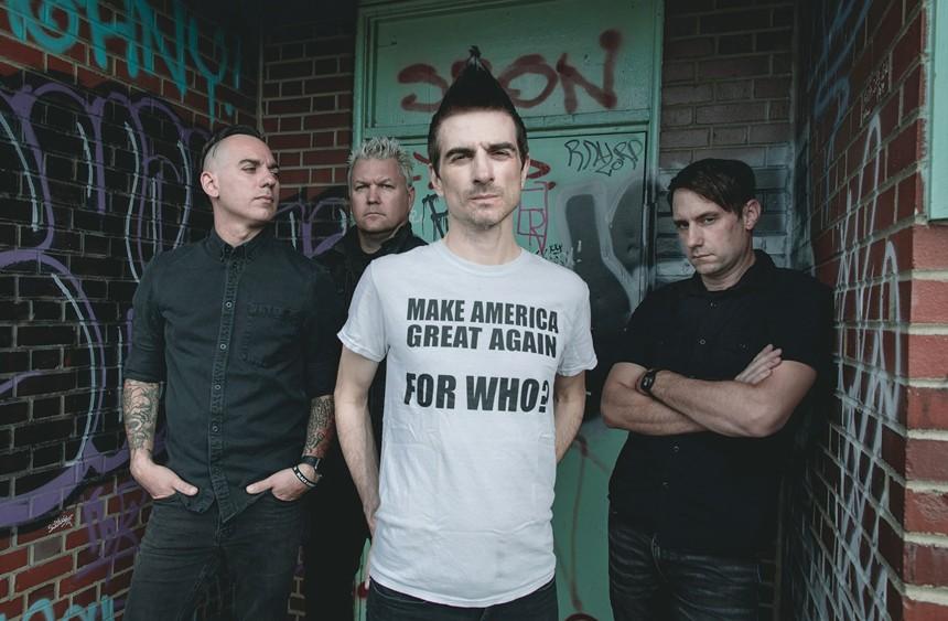 Anti-Flag is scheduled to perform on Thursday, September 23, at The Rebel Lounge. - ATOM SPLITTER PR