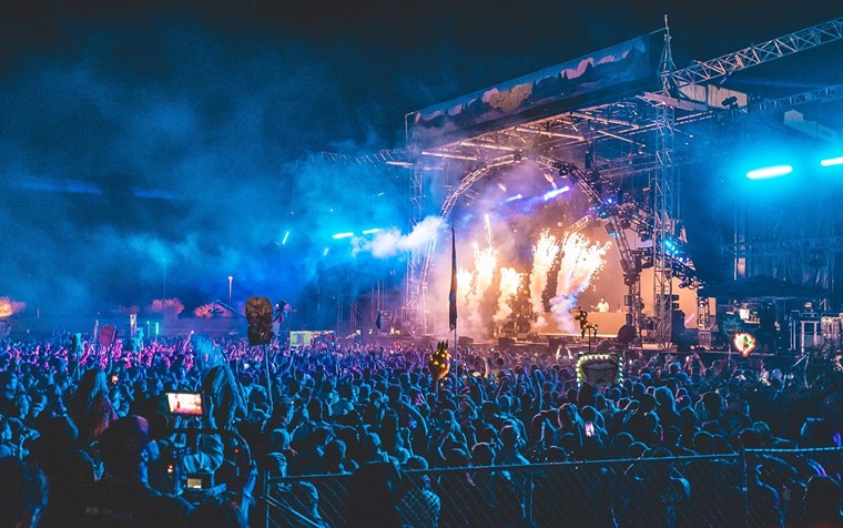 One of the stages at a previous edition of Goldrush Music Festival. - LUIS COLATO/RELENTLESS BEATS