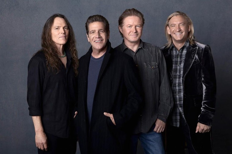 The Eagles have a two-night run in Phoenix this weekend. - THE EAGLES