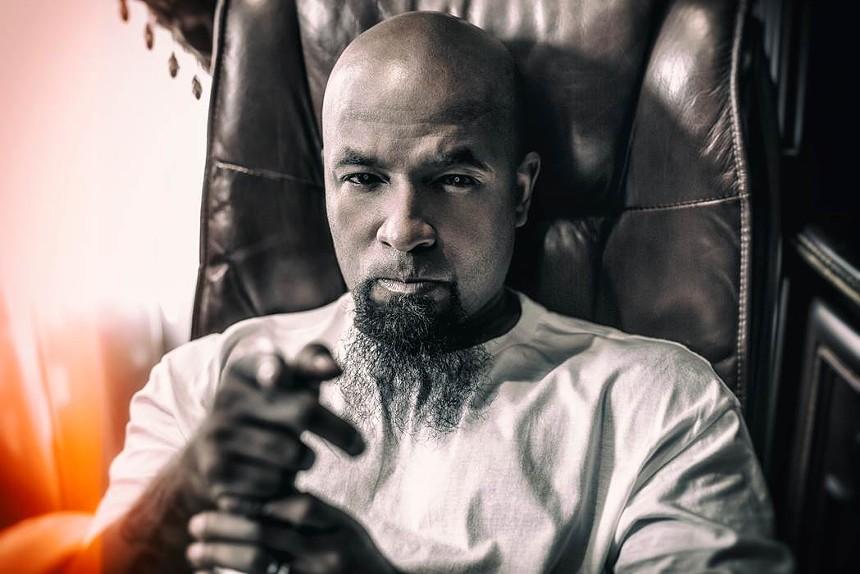 Aaron Yates, better known as rapper Tech N9ne.  - Adrenaline PR