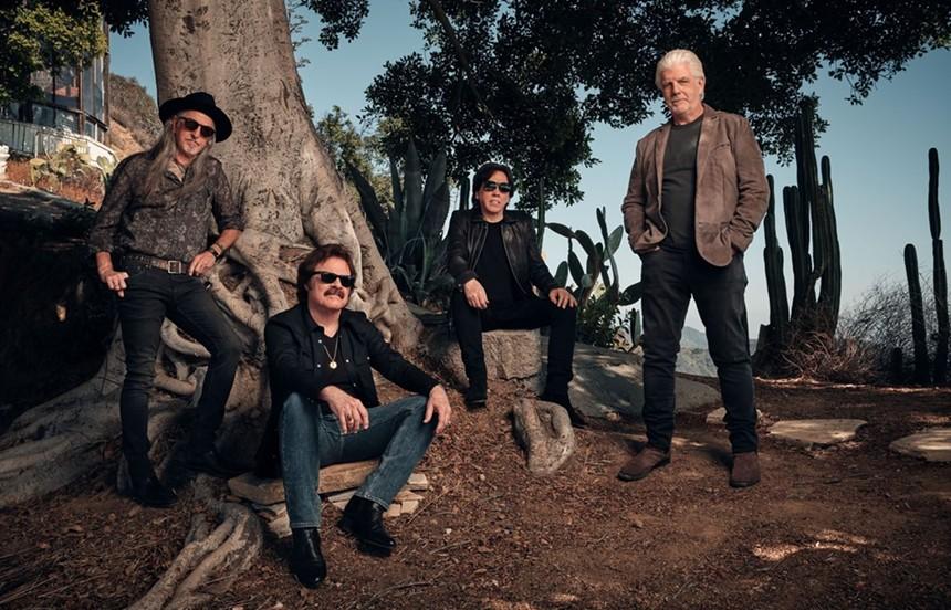 Pop-rock pioneers The Doobie Brothers. - CLAY PATRICK MCBRIDE