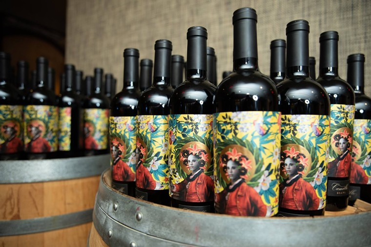 Camille Brave is a red blend featuring Zinfandel and Syrah with just a pinch of Petite Sirah and Mourvèdre. - COOPER'S HAWK