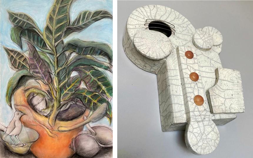 See works by Deborah Hodder at Five15 Arts at Chartreuse. - FIVE15 ARTS