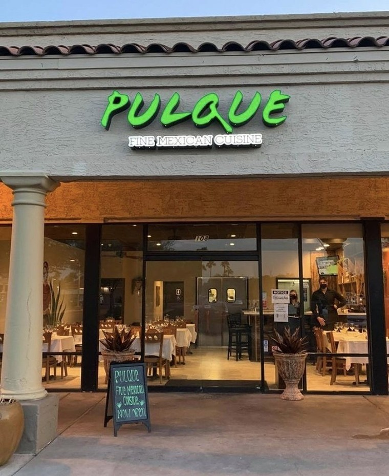 The 48-seat restaurant closed permanently on September 30. - PULQUE FINE MEXICAN CUISINE