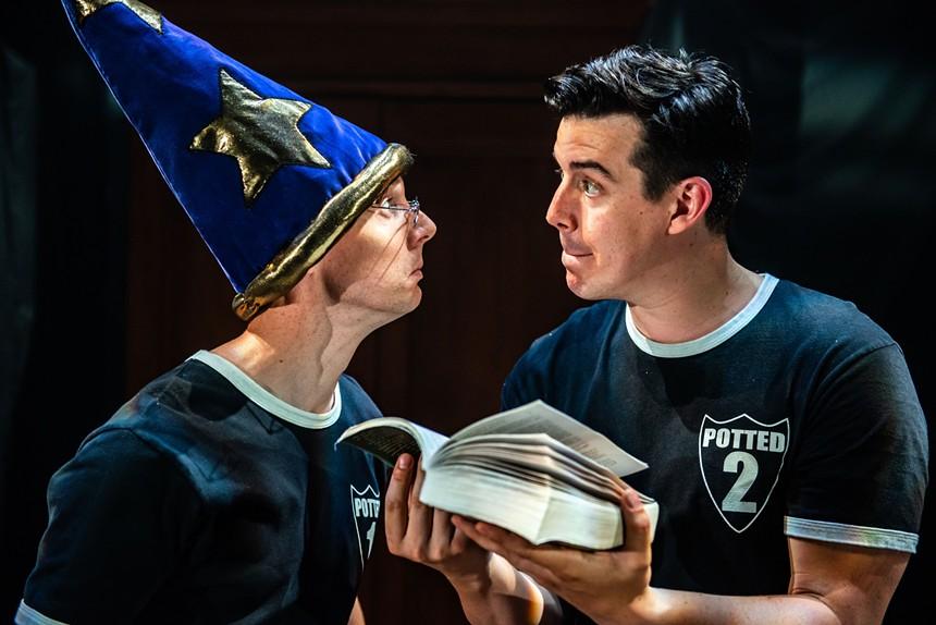 Scott Hoatsen (left) and Joseph Maudsley (right) of Potted Potter. - EVOLVE MARKETING