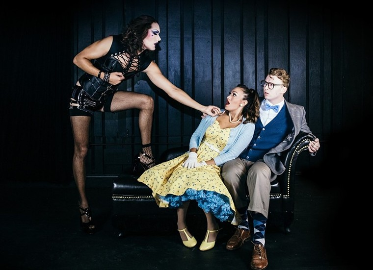 Meet Dr. Frank-N-Furter and the gang at Phoenix Theatre Company. - REG MADISON PHOTOGRAPHY