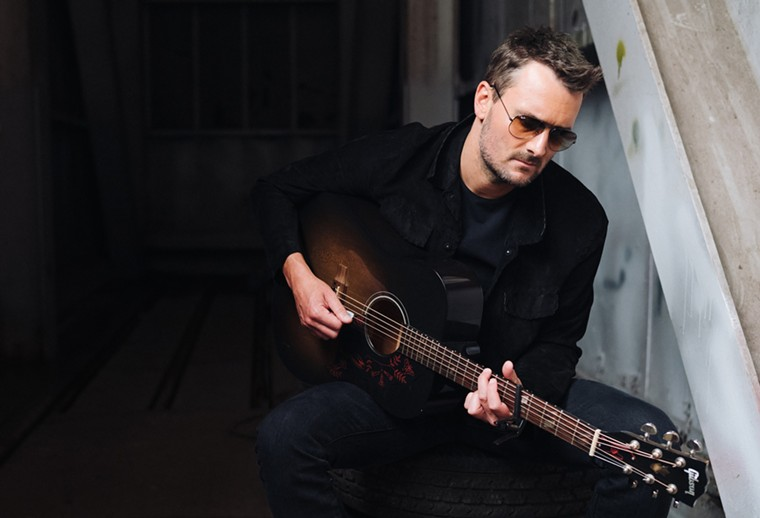 Eric Church is scheduled to perform on Sunday, October 17. - REID LONG