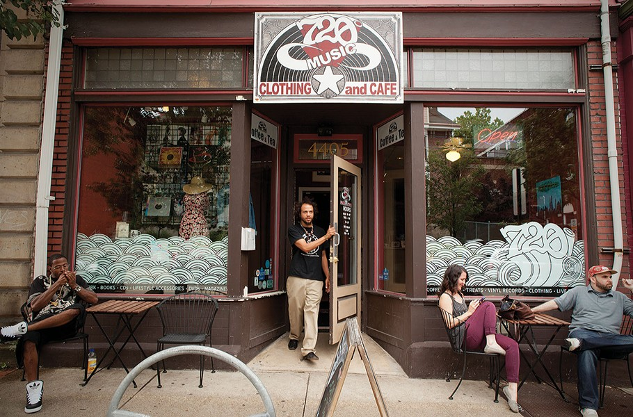 720 Music, Clothing and Cafe in Lawrenceville - PHOTO BY HEATHER MULL