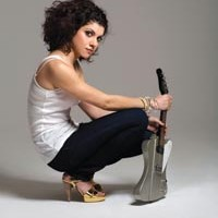 Carrie Rodriguez and her mandobird swoop down on Rex Theater
