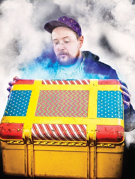 Dan Deacon - COURTESY OF FRANK HAMILTON