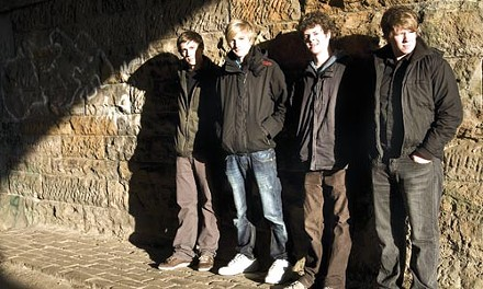 """A humor in Scotland"": We Were Promised Jetpacks"