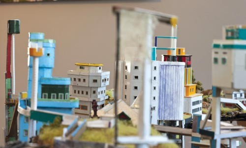 "A little glimpse of the future: Ryder Henry's ""Periphery"" (detail). - COURTESY OF TOM LITTLE"