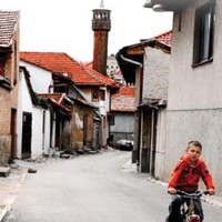 A local writer publishes a book about his sojourn in the post-war Balkans.